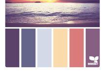 сочетании цвета