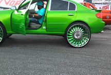 BMW  WITH 30 INCH WHEELS