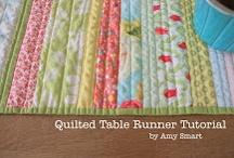 Table runner patterns