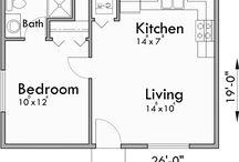 Backyard Flat Plan