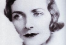 Edwina Mountbatten / One of the few disappointments in my life, is not to have known my bewitching grandmother Edwina Mountbatten. Beautiful, vivacious, intelligent and forthright.