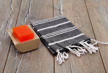 "Peshkir (Small Towel) / It is used as Hand & Head Towel, Kitchen & Dish Towel...  Made from 100% cotton   Dimensions: 37.5"" L x 23.5"" W (95cm x 60 cm)"
