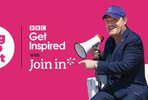 The Big Help Out / Ahead of BBC Sports Personality of the Year, Join In patron Eddie Izzard and Tanni Grey-Thompson launch #BigHelpOut with BBC Get Inspired.
