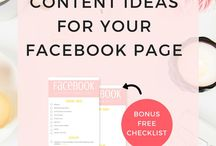 Business - Facebook Page Content Ideas