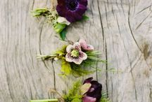 Flowers to Wear / Flowers to adorn the lads' coats or the lass' crowns. / by Jessica Ormond Events