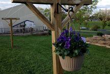 Trädgårds projekt