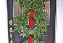 Christmas Wreaths, Garlands & Greenery