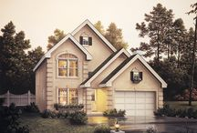 Narrow Lot House Plans / All of the home plans featured on this board have footprints 40' and under in width making them ideal for today's smaller sized lots.