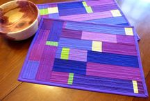 Radiant Orchid quilt challenge / Ideas and inspiration for a Radiant Orchid mini-quilt / by Amy Blanchard