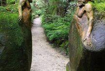 Esculturas para jardins