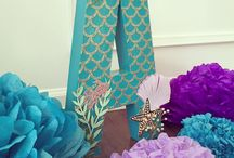 Mermaid Party / Mermaid Party ideas and Inspirations