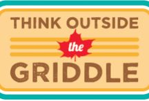Think Outside the Griddle / Entries from our 2014 Think Outside the Griddle blogger recipe contest in which we invited fans to ignite their creativity and celebrate the versatility of pure maple syrup with one-pot meals that serve double-duty.