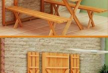 Pallet picnic tables