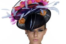 Hats and Millinery Design by Merve Bayindir / Collection of different pins of Hats and Millinery made by Merve Bayindir