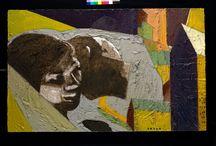 i ristrutturati 2011 / Sono quadri sottratti alle precedenti serie, cancellati e ridipinti.