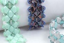 Silky Patterns / Beadwork Patterns utilizing Silky Beads.  Free with purchase from Bead Passion Studio.