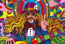 Psychedelic Peace / Psychedelic Peace:  Psychedelic Art work, Vintage Posters, Peace Signs