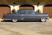1950's Cadillacs / Slotted between the end of WWII and prior to the turbulent 60's, these classic cars embodied American enthusiasm, ambition and imagination.