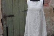 Lněné šaty
