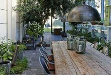 Outdoor living / Outdoor spaces
