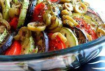 saladas ao forno