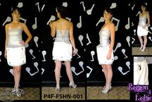 Fashnic Line / This collection totals 10 items. Of which it consists of primarily dresses and then men's matching items which are coats.  I was inspired by the sounds and designs of different instruments.  This line is more couture based and the designs are quite literal.   I like to think if this line as art through fashion.  - See more at: http://www.passion4fashion.co.za/fashnic-line.html#sthash.ZnPFb9RV.dpuf