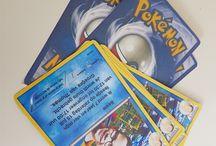 pokemon kaartjes uitnodiging