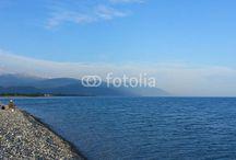 На Черном море / Черное море, закаты, побережье Сочи