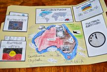 All About Australia Lap book