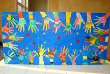 Helping hands art