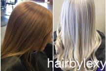 white / silver hair 2016