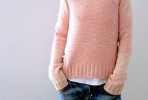 Stickade tröjor