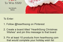 HearthSong Christmas Wishes / by Karin Bergstrom