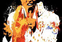 Elvis Artwork / Elvis Presley related works of art