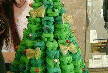 Pomi de Crăciun reciclabili