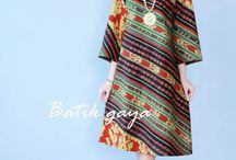 dress batik parang