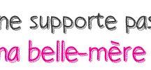 Belle-mère / Logo du site je ne supporte pas ma belle mère