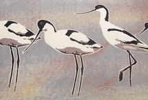 Brilliant Birds / Arty, stitchy and birdy inspiration.