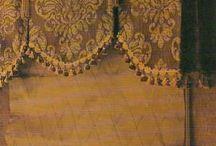 Interior design curtains