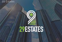 29 Estates / Brand Identity of a real estate firm, 29 Estates.
