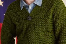 Crochet free patterns for men / by Françoise PERNEL-HOURIEZ