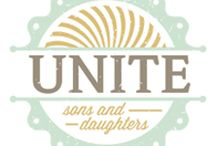Unite~Sons & Daughters / The Unite~Sons and Daugthers is a fundraising program created to assist adoptive parents in raising funds to help assist in the costs associated with the adoption process.