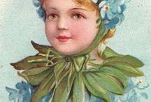Portrait, cards