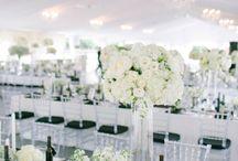 Black - White - Elegant - Glam - Wedding