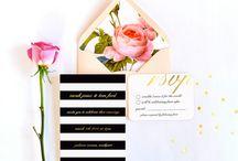 Wedding invitation / .