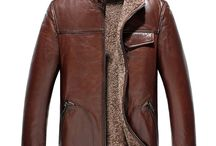 Mens 2in1 Shearling Jackets / Original designer shearling leather jackets for men with ecological material and scientific 2in1 construction, it will keep you toasty and nice in extremely cold weather.