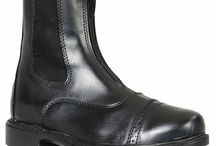 Children's Equestrian Riding Boots / Multiple Styles Of Children's Equestrian Paddock Boots. Perfect for Dressage, Hunter/Jumper, Eventing -- All English Equestrian Disciplines. Selections From -- Tuffrider – Perris –  Ariat -- Saxon .