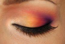 cool eye makeup / by Auryn's Lair