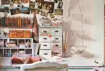 Workspace/studio / by Diane McCarty Potts