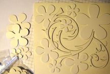 Scrapbooking - Embossing / Ideas for embossing
